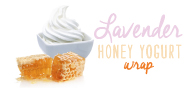 Lavender Honey Yogurt Wrap