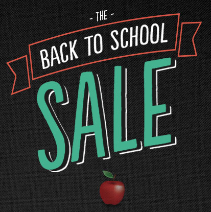Back 2 School Sale – August Monthly Salon Special